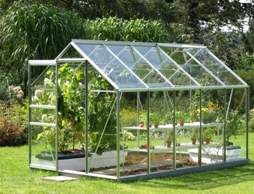 Jak postavit skleník? Stavba skleníku svépomocí.
