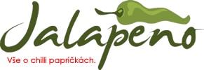 Jalapeno, Chilli, Habanero pálivé papričky a feferonky Retina Logo
