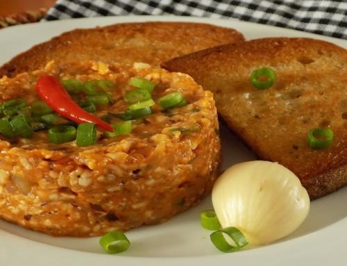 Tatarák – recept na tataráček z romadůru s chilli papričkou